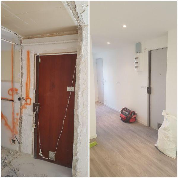 Renovation De Salle De Bain Dans Un Appartement Ancien